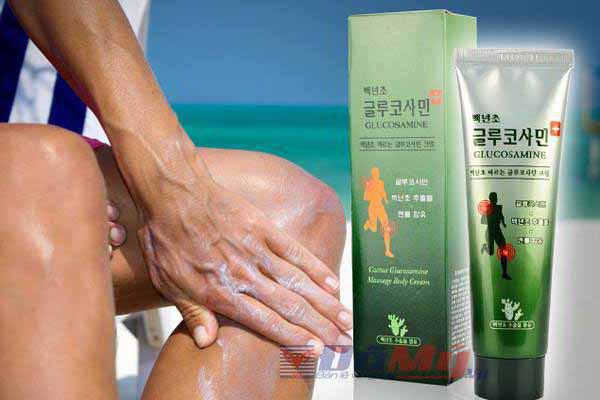 Dầu xoa bóp khớp toàn thân Cactus Glucosamine Massage Body Cream 1
