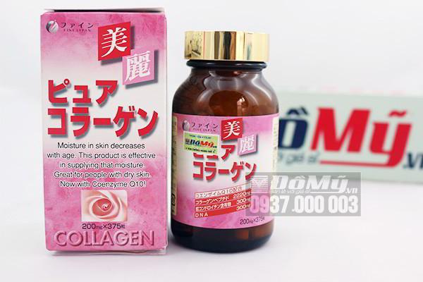Ngăn ngừa lão hóa da một cách hiệu quả với Collagen Fine Pure 375 viên của Nhật Bản