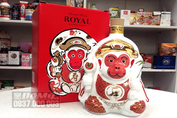Rượu con khỉ Suntory Whiskey Royal cao cấp loại 600ml của Nhật Bản