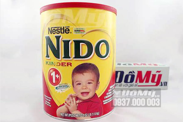 Sữa Nido Kinder 1+ chống táo bón của Mỹ