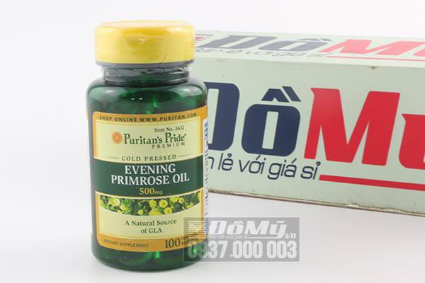 Viên uống tinh dầu Hoa Anh Thảo Evening Primrose Oil 500mg hộp 100 viên Mỹ