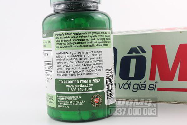 Viên uống bổ sung kẽm Zinc Gluconate 50mg hộp 250 Viên của Mỹ