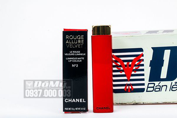 Son môi Chanel Rouge Allure Velvet Luminous N2 Limited  Edition 3.5g của Pháp