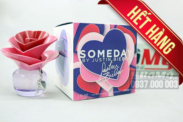 Nước hoa nữ Someday Justin Bieber for Women 100ml của Mỹ