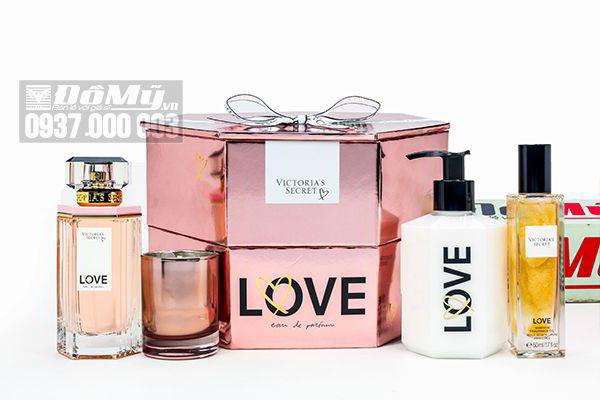 Set nước hoa Victoria's Secret Love 4 món của Mỹ