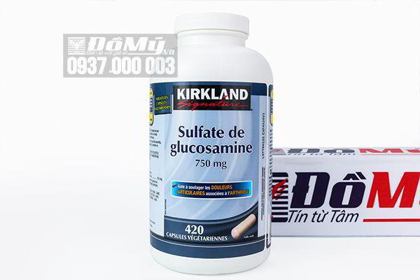 Viên uống bổ khớp Kirkland Sulfate de glucosamine 750mg 420 viên