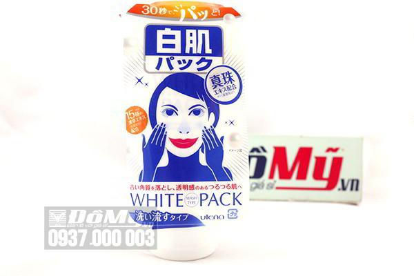 Mặt nạ dưỡng trắng da cam thảo Utena White Pack 140g của Nhật Bản