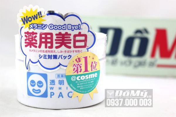 Mặt nạ ủ trắng da White Pack Ishizawa 130g của Nhật Bản