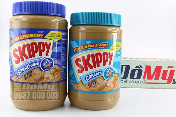 Bơ đậu phộng Skippy Butter 1.13kg của Mỹ