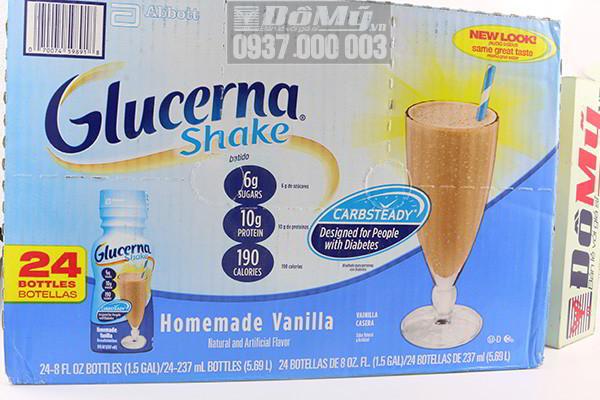 Sữa Nước Glucerna 237ml nhập từ Mỹ dành cho người bị bệnh tiểu đường