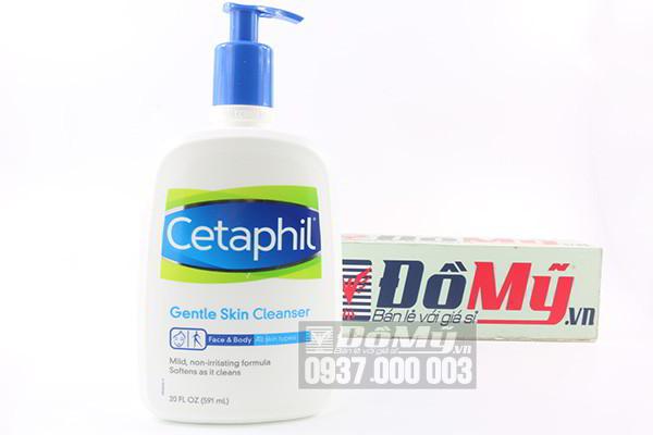 Sữa rửa mặt Cetaphil Gentle Skin Cleanser 591 ml của Mỹ