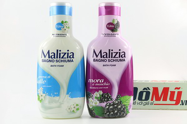 Sữa tắm Malizia Bagno Schiuma Bath Foam 1000ml của Ý
