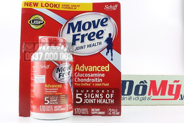 Move Free Advanced Total Joint Health 170 viên chuyên trị khớp hàng đầu tại Mỹ