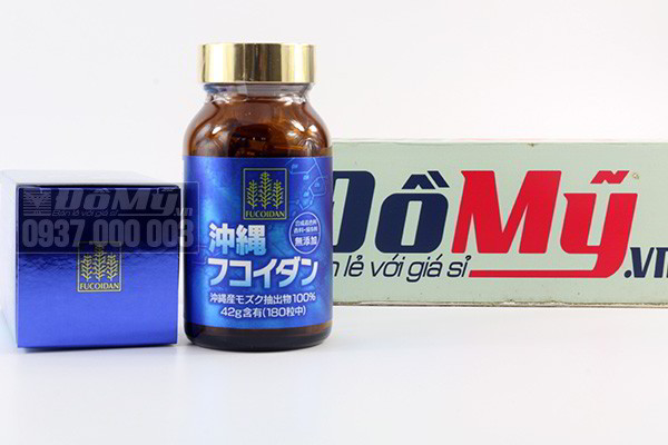 Thuốc điều trị ung thư Fucoidan của Nhật Bản