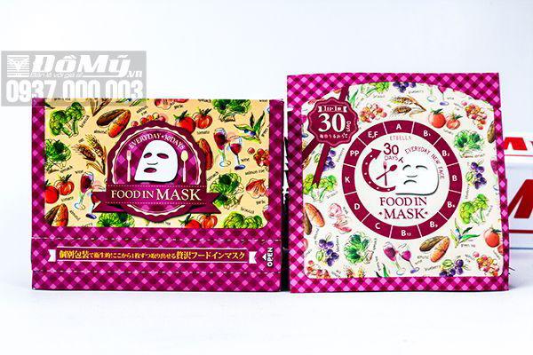 Mặt nạ dưỡng da Food in Mask nội địa Nhật Bản
