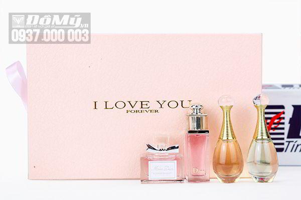 Gift  Set Nuoc Hoa Dior Mini (4 chai) của Pháp