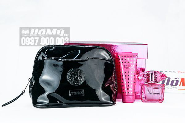 Gift  Set Versace Bright Crystal Absolu 3pcs của Ý