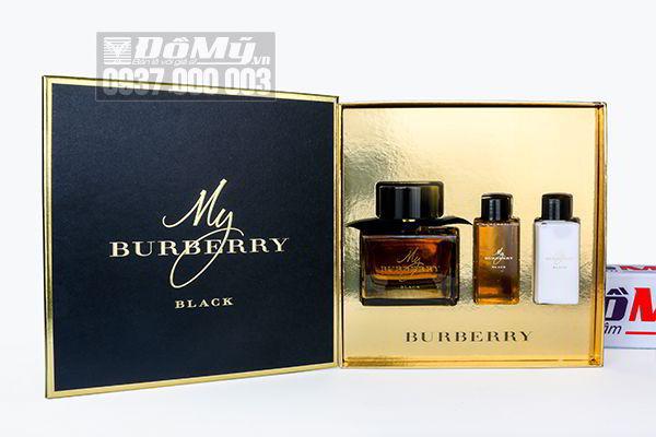 Gift Set nước hoa My Burberry Black 3PC của Pháp
