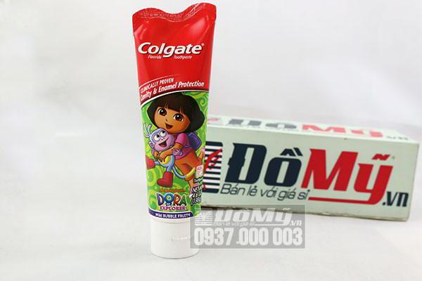 Kem đánh răng trẻ em Colgate Dora Explorer 130g của Mỹ