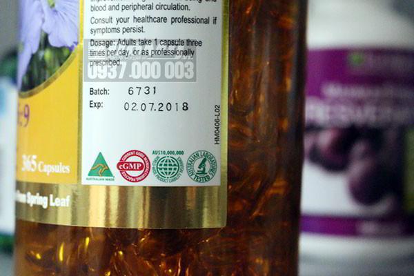Viên uống tăng cường sức khỏe Super Omega 3 6 9 Spring Leaf hộp 365 viên của Úc