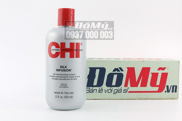 Tinh dầu dưỡng tóc Chi Silk Infusion 355ml của Mỹ