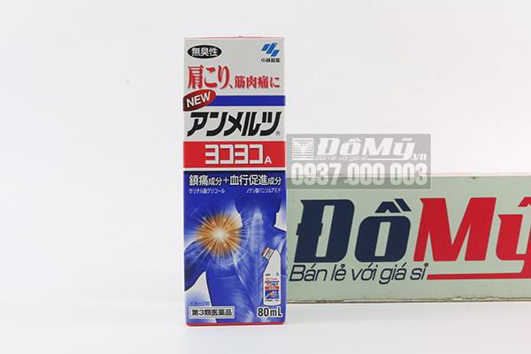 Dầu xoa bóp Yoko Yoko 80ml của Nhật