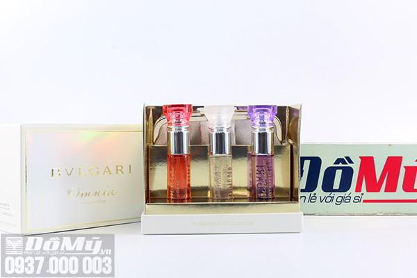 GiftSet nước hoa Bvlgari Omnia collection 3 chai của Italy