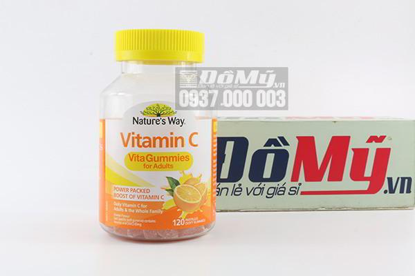 Kẹo dẻo Nature's Way Vitamin C Vita-Gummies cho người lớn hộp 120 viên của Úc