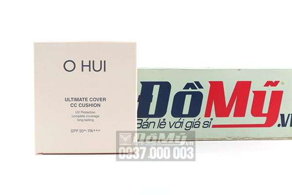 Lõi phấn nước Ohui Ultimate Cover CC Cushion SPF 50+/PA+++ 15g của Hàn Quốc