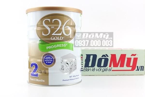 Sữa S26 Gold Progress số 2 dành cho bé từ 6-12 tháng 900g của Úc