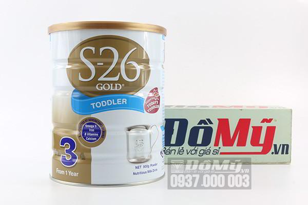 Sữa S26 Gold Toddler số 3 dành cho bé từ 1 tuổi trở lên 900g của Úc