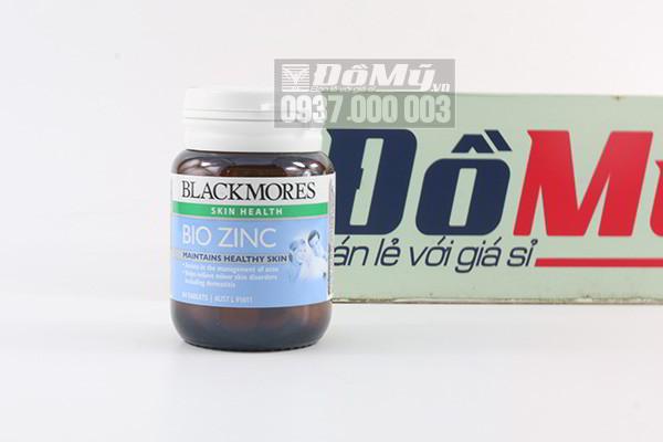 Viên uống bổ sung kẽm tự nhiên Blackmores Bio Zinc Maintains Healthy Skin 168 viên của Úc