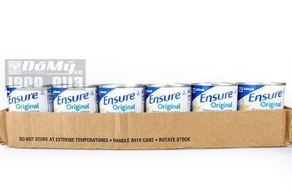 Sữa nước Ensure Mỹ 237ml thùng 24 lon thiếc