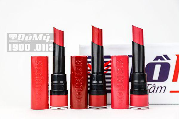 Son lì dạng thỏi Bourjois Rouge Velvet The Lipstick Pháp