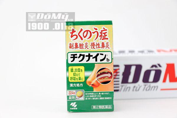 Thuốc đặc trị viêm xoang của Nhật Bản 224 viên