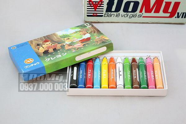 Bút Chì Sáp AP colour 12 của Nhật Bản