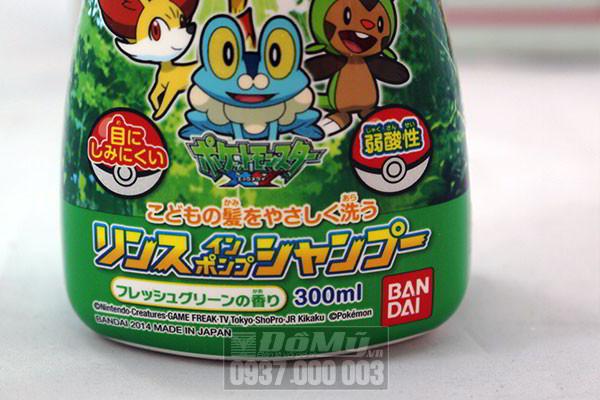 Dầu gội cho bé nam Bandai 300ml của Nhật Bản