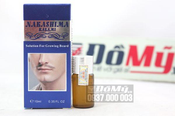 Gel kích thích mọc râu NaKaShiMa chính hãng – Nhật Bản