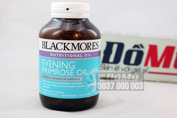 Viên uống tinh dầu Hoa Anh Thảo - Blackmores Evening Oil 125 viên của Úc