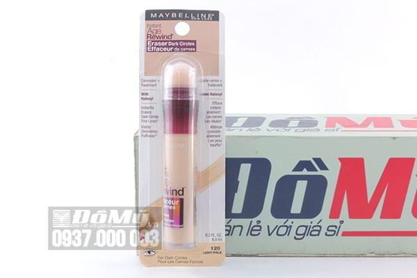 Che khuyết điểm mắt Maybelline Instant Age Rewind Eraser Dark Circles (màu 120) 6ml của Mỹ