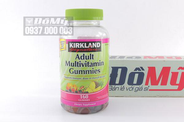 Kẹo dẻo Kirkland Signature Adult Multivitamin Gummies 160 viên của Mỹ