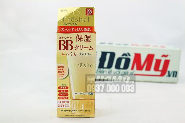Kem trang điểm Kanebo Freshel Mineral BB Cream Moist SPF28/ PA++ 50g của Nhật Bản