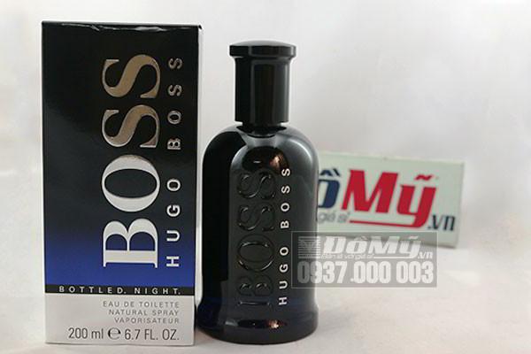 Nước Hoa Nam Hugo Boss Bottled Night Eau De Toilette 200ml của Pháp