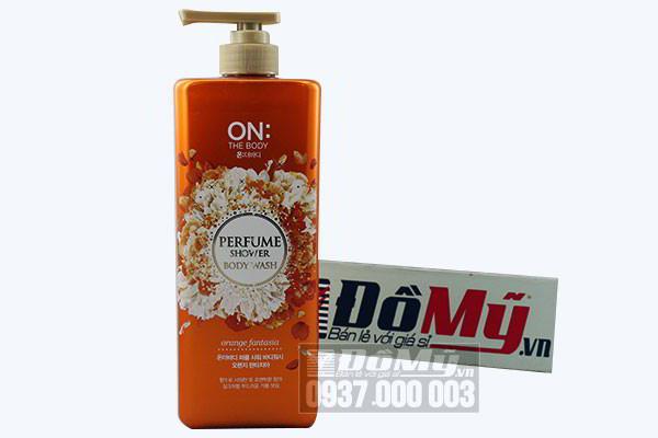 Sữa tắm nước hoa của Hàn Quốc On The Body Perfume Shower Body Wash 900g