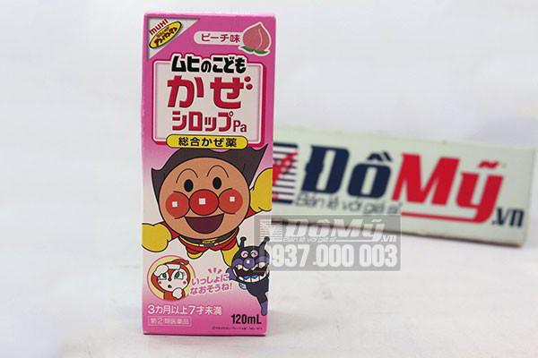 Siro trị ho Muhi màu hồng 120ml của Nhật Bản