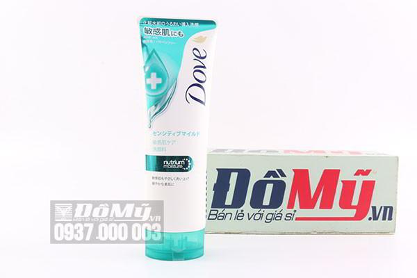 Sữa rửa mặt dưỡng da Dove Nutrium Moisture 130g của Nhật