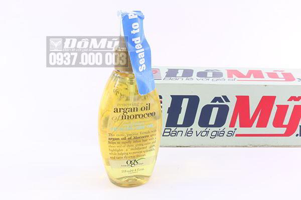 Tinh dầu dưỡng tóc OGX Renewing Argan Oil Of Morocco Healing Dry Oil 118ml của Mỹ