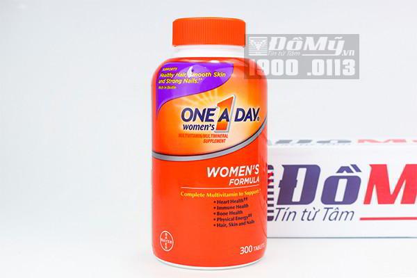 ONE A DAY Women's Formula Vitamins 300 viên của Mỹ