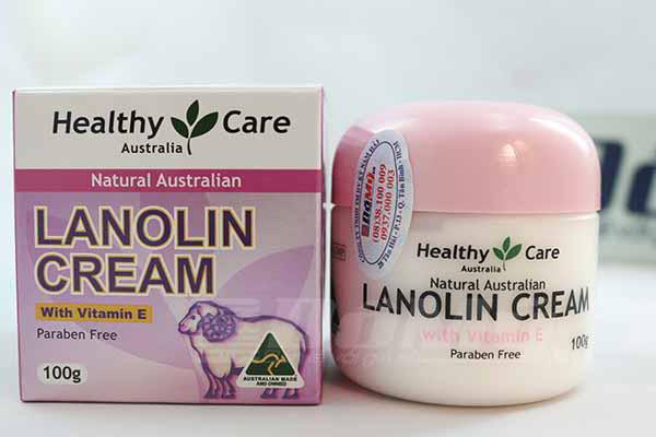 Kem dưỡng da chống lão hóa nhau thai cừu Lanolin Cream của Úc loại 100g