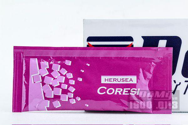 Nước uống trắng da chống nắng Silk Collagen Coresi Nhật (gói)